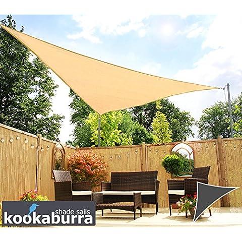 Toldos Vela Kookaburra Arena Triangular 4.2mx4.2mx6.0m (Transpirable