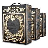 2017er Farnese - Vigneti del Salento - Vanitá | Nero di Troia - Puglia IGT Primitivo Bag-in-Box (3 x 3 Liter)