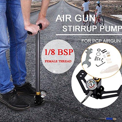 3Stage Design 4500psi Air Gun Präzision Manometer Air Gewehre Hohe Druck Handpumpe (Luft-gewehr-montagen)