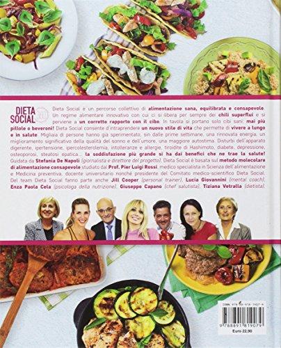 scaricare ebook gratis Dieta social. Guida definitiva per un nuovo stile di vita sano e consapevole. Con app PDF Epub