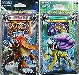 Pokémon Sonne & Mond Serie 8 - Echo des Donners - 2 Themendecks (Lavabrand + Sturmbeschwörer) - Deutsch