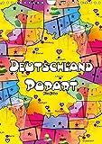 Deutschland Popart von Nico Bielow (Wandkalender 2019 DIN A4 hoch): Deutschland ist bunt und das zeigen die kräftigen Popart Bilder des Künstler Nico ... (Monatskalender, 14 Seiten ) (CALVENDO Kunst) - Nico Bielow