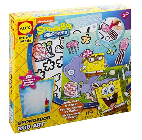 Rub-art-kit (ALEX Toys SpongeBob Rub Art Kit)