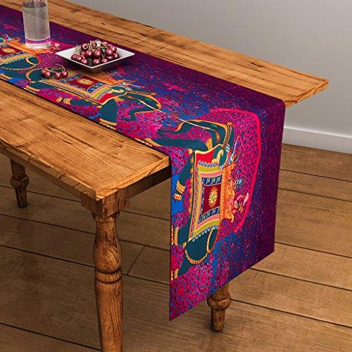 Sej By Nisha Gupta Abstract Purple Hd Digital Premium 13 By 48...