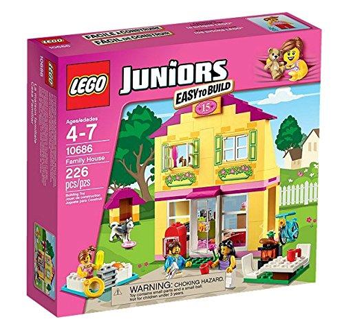 LEGO Juniors - Casa familiar, multicolor (10686)