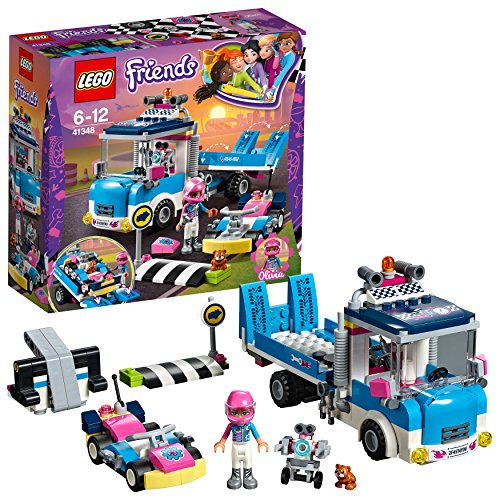 LEGO 41348 Friends Service & Care Truck Building Set Best Price and Cheapest