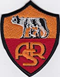 MAREL - Gestickter Aufnäher des AS Rom Fußball-Clubs - 8,5 x 6,5 cm - Replik 994