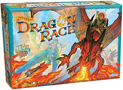 Fantasy Fantasy Fantasy Board Game - the Great Dragon Race - To the Victor Goes the Treasure B01MXJETLS 361a7f