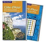 POLYGLOTT on tour Reiseführer Côte d'Azur: Mit großer Faltkarte, 80 Stickern und individueller App - Björn Stüben, Natalie John