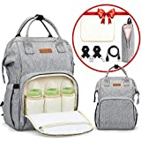 Best Baby Backpack Diaper Bags - LOORY Baby Diaper Backpack with USB Charging Port Review