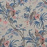 Textiles français Leinenstoff | Die Raubvögel (Kollektion