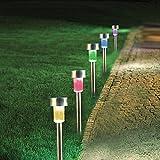 Best Landscape Lights - Landscape Path Lights LED Garden Stake Light Stainless Review