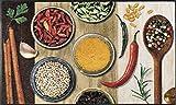 Wash&Dry 081302 Hot Spices Fußmatte, Acryl, Bunt, 75 x 120 x 0.7 cm
