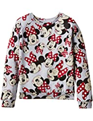 Eleven Paris Minnieall Jp - Sweat-shirt - Imprimé complet - Col rond - Manches longues - Fille