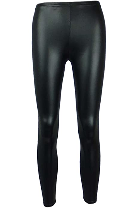 A2Z 4 Kids/® New Kids Girls Its My Life Crop Top /& Black Wet Look Legging Set New Age 7 8 9 10 11 12 13 Years