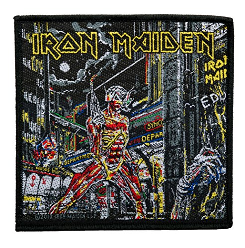 Parche tela diseño Iron Maiden – Somewhere in Time