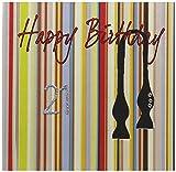 "White Cotton Cards ""Happy Birthday"