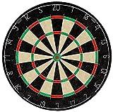 Dartboard 45 cm mit 2 Sets Pfeilen Metallspitze 22 g