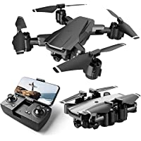 DRONE WITH CAMERA : HELIUM Remote Control Flying Drone with 120° Wide Angle Camera for Selfie & Video with WiFi FPV…