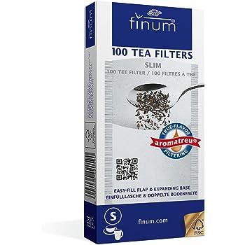 Finum 100 Tea filtro a carta, S