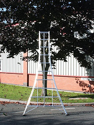 Hendon Standard Tripod Ladder GMF360, 3.6m (11.8ft), 12 Tread, Aluminium Lightweight Frame, 1 x Adjustable Leg, Tested to EN131