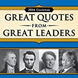 2016 GREAT QUOTES FROM GREAT LEADERS 365 Page-A-day Daily Box / Desk Calendar by Sourcebooks