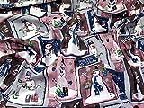 Freundlicher Schneemänner Weihnachten Print 100% Baumwolle