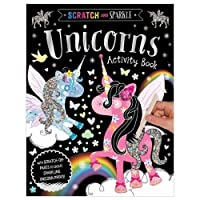 Scratch and Sparkle Unicorns Activity Book