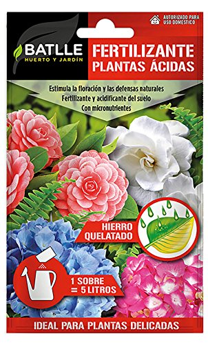Abonos - Fertilizante Plantas Acidas Sobre para 5L - Batlle