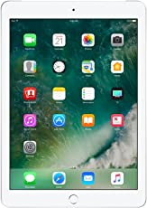 "Apple iPad, 9,7"" mit Wifi + Cellular, 128 GB, 2017, Silber"