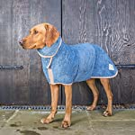 Ruff and Tumble Dog Drying Coat - Classic Collection (XXXS, Brick Red) 48