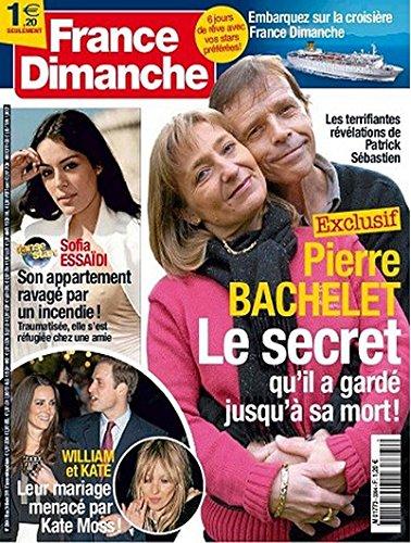 France Dimanche n° 3364 - Pierre Bachelet / Zaz sur les traces d'Edith Piaf / Sofia Essaïdi