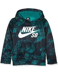 Nike Jungen Kapuzenpullover All Over Therma Fit