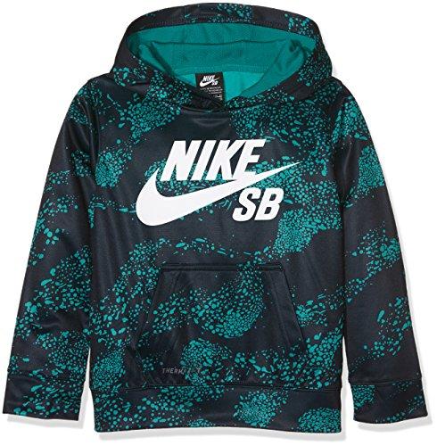 Nike SB All Over Therma Fit, Cappuccio Bambino, Blu (Obsidian), 4-5 anni (Taglia Produttore: 4-5Y)