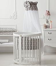 ComfortBaby ® SmartGrow 7in1 Multifunktionales Baby- und Kinderbett Weiss (5 Fach zertifiziert nach DIN-EU Sicherheitsnorm)