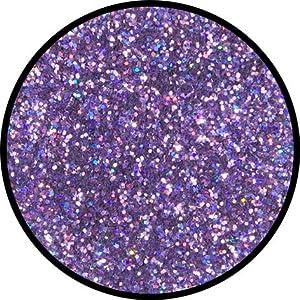 Eulenspiegel Profi-Schminkfarben GmbH Búho Espejo-Juwel de Lavanda-Glitter Confeti