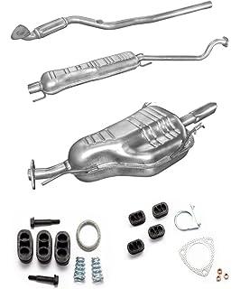 Opel Vectra C 1.8i Endschalldämpfer+MONTAGEWARE Auspuff
