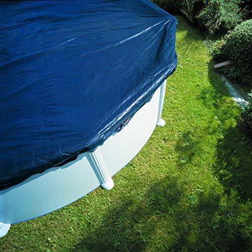 Gre CIPROV611 - Cubierta de invierno para piscinas ovaladas, 610 x 375 cm
