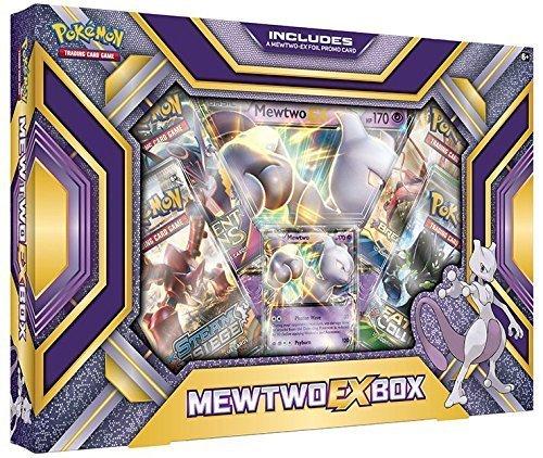 Pokémon - Jeux de Cartes - Produits Spéciaux - Christmas Mewtwo Ex Box Anglais
