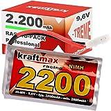 Kraftmax Akku RC Racing-Pack mit Tamiya Stecker (9,6V, 2200mAh ( min 2000 mAh ) NiMH)