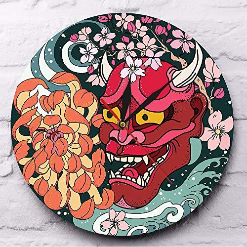 Cchpfcc Máscara Demonio Oni Demonio Rojo gótico
