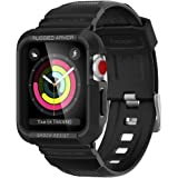 Spigen Rugged Armor Pro Cover Case Compatible with Apple Watch Series 3 | Series 2 | Series 1 (42mm) - Black