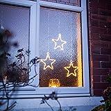 LED Stern Fensterdeko Weihnachtsdeko Timer Batteriebetrieb Lights4fun Test