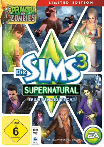 Die Sims 3: Supernatural - Limited Edition (Add-On) Supernatural-pc-spiele