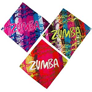 Zumba Fitness Cut It Out Pack de 3 foulards