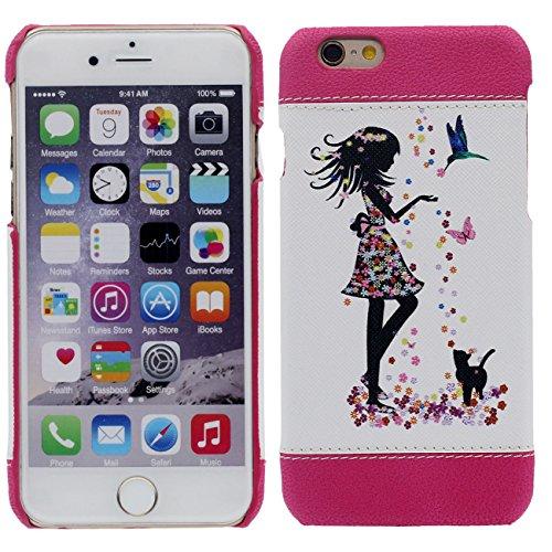 iPhone 7 Plus Coque Mince et Léger, Dur Plastique Rose Beau Housse de Protection Case pour Apple iPhone 7 Plus 5.5 inch rose-1
