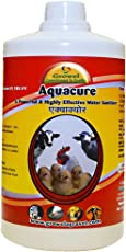 Growel Aquacure - Water Sanitizer for Poultry,Cattle, Birds & Other Farm Animals (1000 ml.)