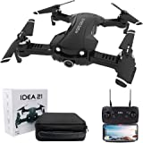 le-idea IDEA21 - Foldable FPV Drone with 4K Camera for Adults, 5G WIFI Transmission, GPS Drone Return Home, Follow Me,Indoor and Outdoor Mode Protection, Includes Carrying Bag
