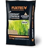 FUXTEC Unkrautstopper mit Rasendünger 7,5 kg (wirksam gegen Löwenzahn,Wegerich uvm.) empfohlen für noch gesünderen Rasen