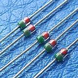 ELECTRONICS-SALON 10pcs Japón MI105General Purpose RF pines Diodo.